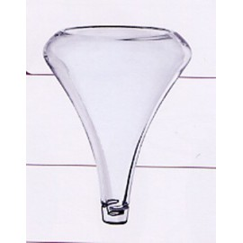 Funnel aerator in glass
