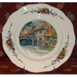 """Dinner Plate """"The farm"""""""