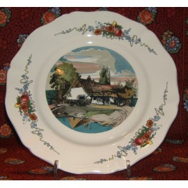 "Dinner Plate ""The lake"""