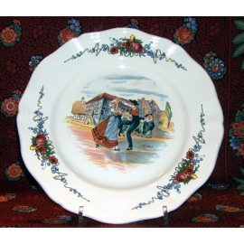 "Dinner Plate ""Dancers"""
