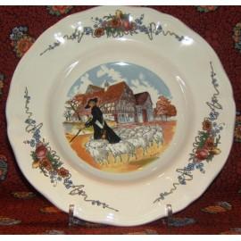 "Rim soup plate ""shepherd"""