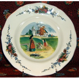 "Rim soup plate ""The mass"""