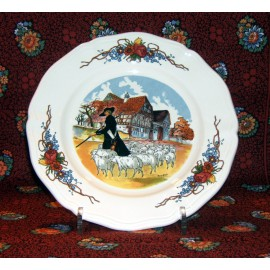 "Dessert plate ""shepherd"""