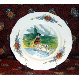 "Dessert plate ""Gooses"""