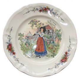 Round platter N°2 large