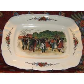 Rectangular platter N°2 large