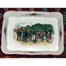 Rectangular platter hoven proof large