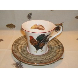 cup & saucer breakfast bronze