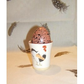 Egg-cup paille