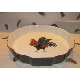 Pie plate bronze