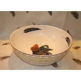Salad bowl paille