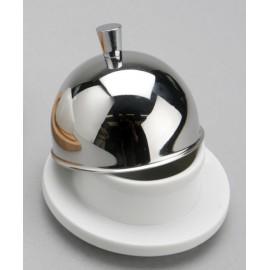 Beurrier rond inox / porcelaine