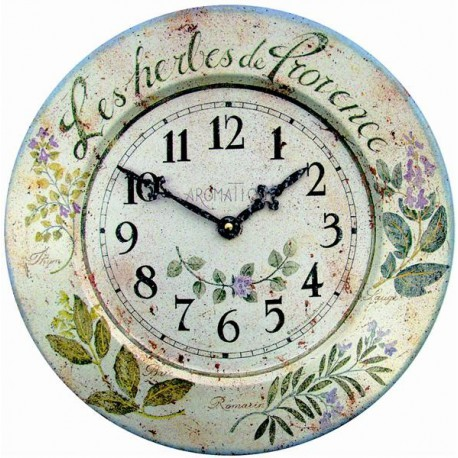 Herbes de Provences model Clock
