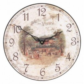 Confiserie de Vichy model Clock
