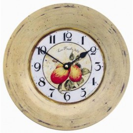 Fruits of sommer model Clock