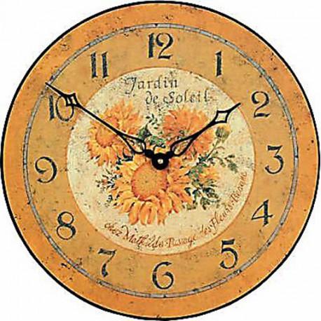 Sunflower model Clock