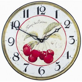 Cherries model Clock
