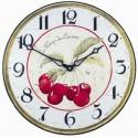Cherries model Clock