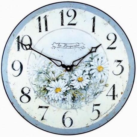 Daisies model Clock
