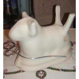 Moule agneau Pascal / Poterie d'Alsace 18cm
