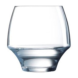 6 water glasses low