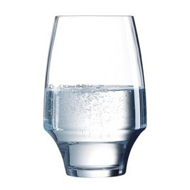 6 water glasses high