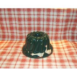Moule à kougelhopf 18cm / poterie d'Alsace / oie vert