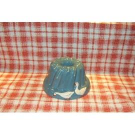 Moule à kougelhopf 18cm / poterie d'Alsace / oie bleu