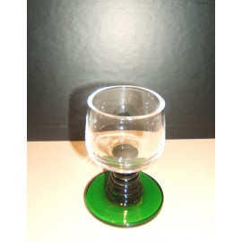 "6 white alcohol glasses """"roemer"""