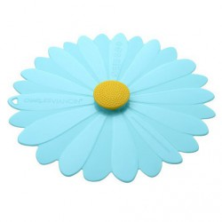 couvercle silicone 28cm hibiscus