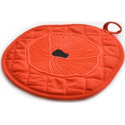 silicone pot holder poppy