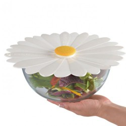 couvercle silicone 28cm daisy aqua
