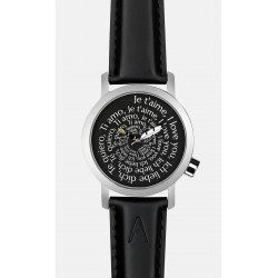 Montre Aktéo saint Valentin 42mm BLACK