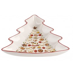 Coupe en forme de sapin PM winter bakery delight