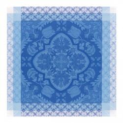 Serviette Azulejos col. Faïence  58x58cm jacquard français