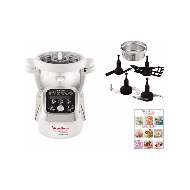 robot cuiseur cuisine companion moulinex. Black Bedroom Furniture Sets. Home Design Ideas