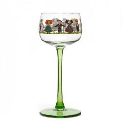 6 Alsace glasses Hansi