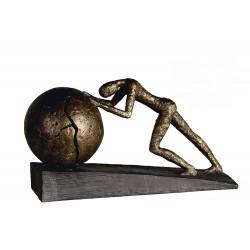 "Sculpture Heavy ball ""Casablanca"""