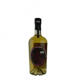 Whisky d'alsace AWA fût de cerise à l'eau de vie 70cl.