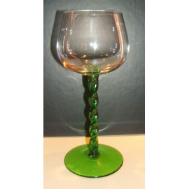 6 Suzel 15cl glasses twisted