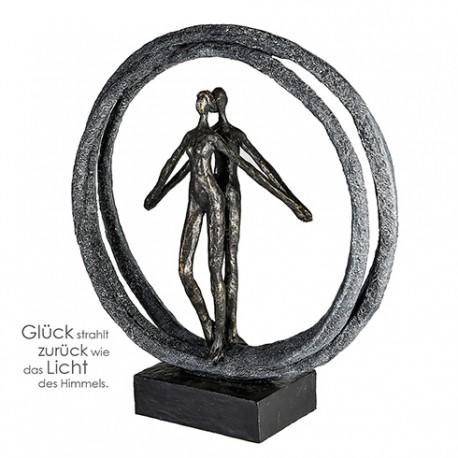 """Sculpture cycliste racer """"Casablanca"""""""