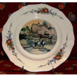 "Plate Plate ""The Laborer"" Obernai"