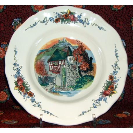 """Soup Bowl """"Chateau"""" Obernai"""