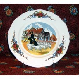 """Dessert Plate """"Berger"""" Obernai"""