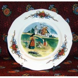 """Dessert Plate """"Mass"""" Obernai"""