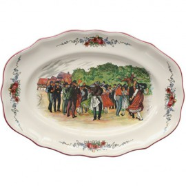Oval Dish Louis Lxv Obernai