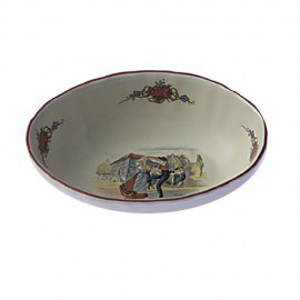 Obernai Oval Bowl