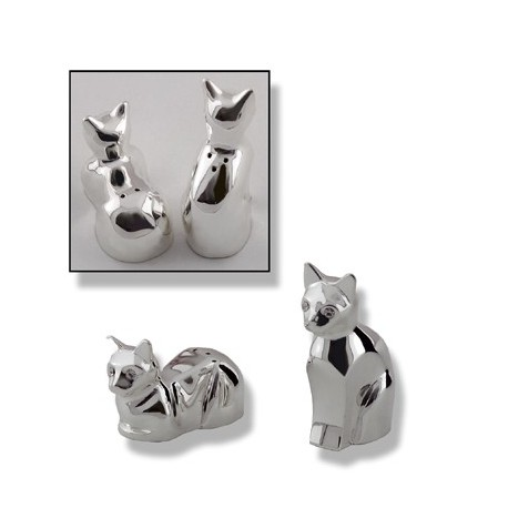 Salt And Pepper Design Cat