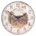 Wall Clock 36Cm Confectionery Vichy