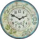 Wall Clock 36Cm Provences Herbs